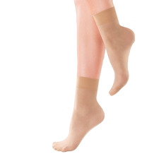 Pretty Polly Legworks 8D Natural Ankle Highs - 2 Paar Barely There OS