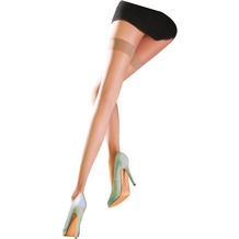 Pretty Polly Naturals 8D Hold Ups Barely There ML