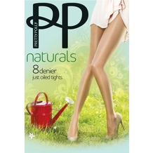 Pretty Polly Naturals 8D Oiled Tights Nude SM