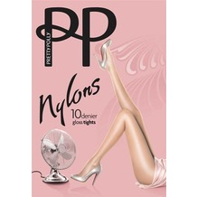 Pretty Polly Nylons 10D Gloss Tights Sherry - S