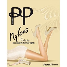 Pretty Polly Nylons 10D Secret Slimmer Tights Sherry - ML
