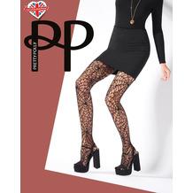 Pretty Polly Premium Fashion Cobweb Net Tights Black OS