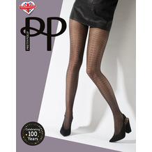 Pretty Polly Premium Fashion Delicate Pattern Tights Black OS
