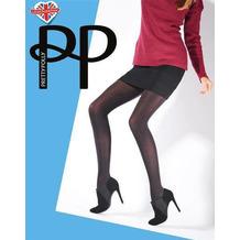 Pretty Polly Premium Fashion Dot Print Tights Black OS