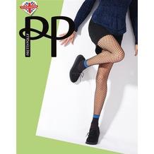 Pretty Polly Premium Fashion Fishnet Ankle Socks Tights Black OS