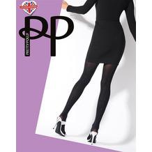 Pretty Polly Premium Fashion Printed Backseam Tights Black OS