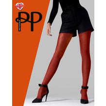 Pretty Polly Premium Fashion Satin Opaque Tights Rust OS