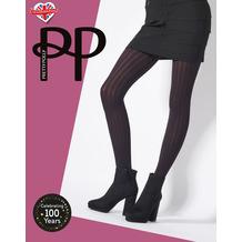 Pretty Polly Premium Fashion Soft Rib Tights Black OS