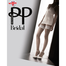 Pretty Polly Pretty Flirty Lace Top Hold Ups Nude/Ivory OS