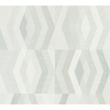 Private Walls Vliestapete Geo Nordic geometrische Tapete grau beige 375334 10,05 m x 0,53 m