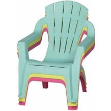 PROGARDEN Kinder-Deckchair, lime green Mini-Selva