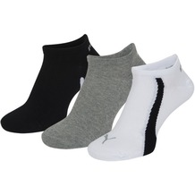 PUMA Lifestyle Sneakers (3 Paar) white / grey / black 35/38
