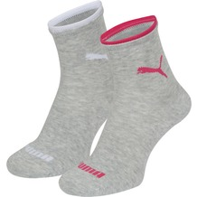 PUMA Lifestyle Women Short Sock (2 Paar) light grey melange 35/38