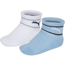 PUMA Mini Cats Lifestyle Terry Sock (2 Paar) white / blue 15/18