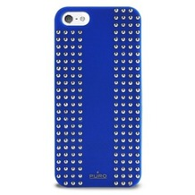 Puro Back Case - Rock - Apple iPhone 5/5S/SE - blau