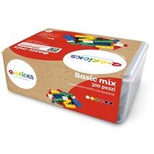 Q-Bricks Box Basic Mischfarben