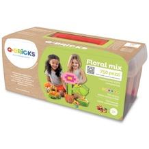 Q-Bricks Maxi Floral Mischfarben 750 Teile