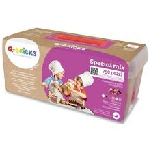 Q-Bricks Maxi Spezial Mischfarben 750 Teile