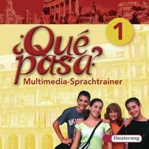 Qué pasa 1. CD-ROM für Windows Vista/XP/98/95. Gesamtschule, Gymnasium Lehrwerk für den Spanischunterricht, 2. Fremdsprache. 1. Lernjahr