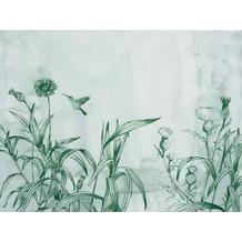 Rasch Digitaldrucktapete Young Artists Wandbild 100471 grün