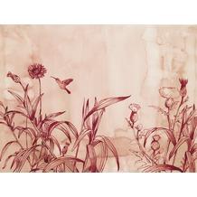 Rasch Digitaldrucktapete Young Artists Wandbild 100488 rot