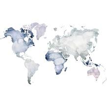 Rasch Digitaldrucktapete Young Artists Wandbild 100549 blau, lila