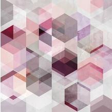 Rasch Digitaldrucktapete Young Artists Wandbild 100938 rosa, violett, lila