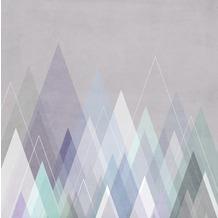 Rasch Digitaldrucktapete Young Artists Wandbild 100976 lila, grau, blau, grün