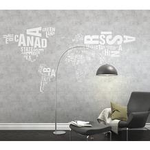 Rasch Digitaldrucktapete Young Artists Wandbild 101003 weiß, grau