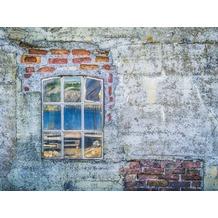 Rasch Digitaldrucktapete Young Artists Wandbild 101058 grau, rot, blau