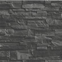 """Rasch Factory """"Mauer""""; 475036; schwarz, grau"""