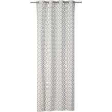 rasch home Gardine mit Ösen Alhambra offwhite-grau 140 x 255 cm