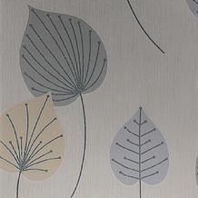 Rasch Papiertapete, 308228, beige, grau, silber