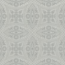 Rasch Tapete BERLIN 529708 Grau, Silber 0.53 x 10.05 m