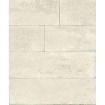 Rasch Tapete Brick Lane 426007 Weiß 0.53 x 10.05 m