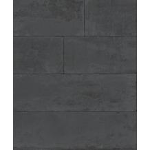 Rasch Tapete Brick Lane 426038 Schwarz 0.53 x 10.05 m