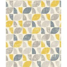 Rasch Tapete Das Beste (2021) 519846 Grau, Gelb, Silber 0.53 x 10.05 m