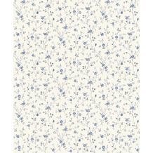 Rasch Tapete Das Beste (2021) 705614 Grau, Weiß, Blau 0.53 x 10.05 m