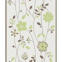 Tapetenmuster wohnzimmer grün  Rasch Tapete in der Farbe grün | Hertie.de