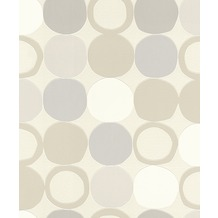 Rasch Tapete Hotppot Muster 805109 Beige, Creme