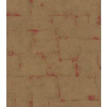 Rasch Tapete Mandalay Muster 528602 Rot