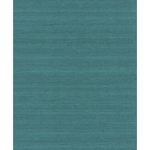 Rasch Tapete Mandalay Uni 528893 Blau
