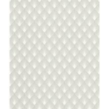 Rasch Tapete Modern Art 433647 Creme, Silber, Grau 0.53 x 10.05 m
