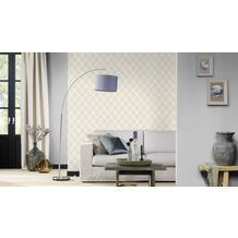 Rasch Tapete Modern Art 433937 Weiß 0.53 x 10.05 m