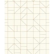 Rasch Tapete Modern Art 610727 Weiß 0.53 x 10.05 m