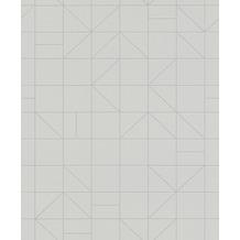 Rasch Tapete Modern Art 610741 Grau, Silber 0.53 x 10.05 m