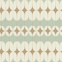 Rasch Tapete Most Faboulos Muster 531121 Grün