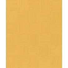 Rasch Tapete Selection Relief/Vlies 533491 Gelb 0.53 x 10.05 m