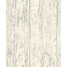 Rasch Tapete Selection Relief/Vlies 626322 Weiß, Grau 0.53 x 10.05 m