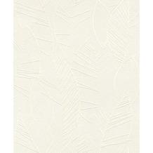 Rasch Tapete Selection Relief/Vlies 831023 Weiß 0.53 x 10.05 m